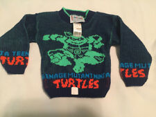 Vintage Teenage Mutant Ninja Turtles Hot Cashews Sweater Made in USA 3T with Tag