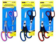 House hold General scissors Soft Grip 8.5' Stainless Steel Craft Scissors