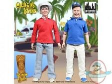 "Gilligans Island 12"" Retro Figure Series 1 Set of 2 Gilligan & Skipper"