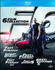 FAST AND FURIOUS - COFANETTO 6 FILM (6 BLU-RAY) EDIZIONE ITALIANA, Paul Walker