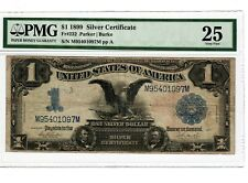 1899 $1 Fr#232 Silver Cert BLACK EAGLE PMG VF25 Rare US Large Size Currency 4026