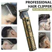 Electric Hair Clipper Trimmer Grooming Cordless Skeleton Clipper