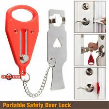 1/2Pcs Portable Door Lock Hardware Security Travel Hotel Lockdown Lock Addalock