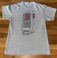 Delta  MLB Red Sox 2013 World Series Champions Baseball Shirt Mens L