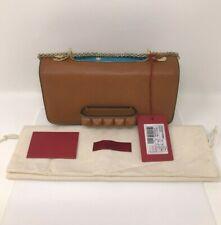 valentino Rockstud Spike.it Flower Intarsia Leather Shoulder Bag