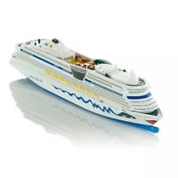 1/1400 Siku German Aida Luxury Cruises 1720 Model 18cm Plastic Boat Ship Toy