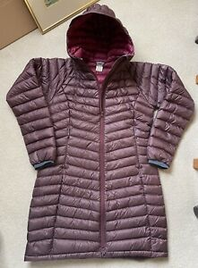 RAB Womens Lupin Purple Microlight Alpine Insulated Down Jacket UK 12 BNWT