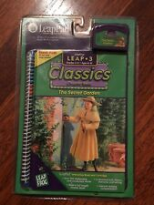 Leap Frog Pad THE SECRET GARDEN Book and Game Cartridge Classics Series NEW