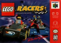 Lego Racers Nintendo 64 N64 Cleaned & Tested Authentic