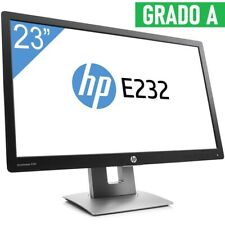 "MONITOR LED HP ELITEDISPLAY E232 23"" 16:9 WIDESCREEN DISPLAY IPS FULL HD HDMI."