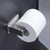 Self Adhesive Stainless Steel Tissue Holder Bathroom Toilet Paper Organizer Rack
