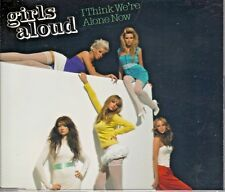 GIRLS ALOUD - I THINK WE'RE ALONE NOW 2 Track CD single