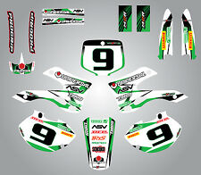 Full Custom Graphic  Kit - STORM - KAWASAKI KX 250 - 1999 / 2002 stickers decals