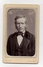 PHOTO - CDV - Homme - FLAMAND - Montlhéry - Tirage d'époque - Vers 1890.