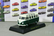 Kyosho 1/64 VW Type 2 T1 Bus Green Volkswagen Miniature car Collection 2008