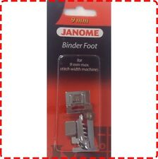 Janome Binder Foot 9mm - Skyline MC8200 MC8900 MC9900 MC12000 MC15000 Bias Tape