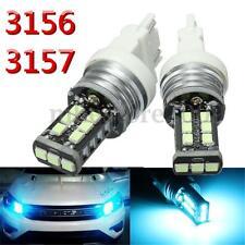 2x 12V Ice Blue 3156 3157 15-3528-SMD LED Daytime Running Light DRL Bulb Lamp