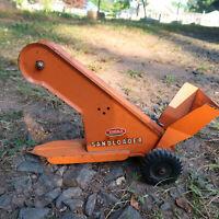 Vintage Tonka Sand Loader Orange Pressed Steel Toy Sandloader 1960s Mound Minn