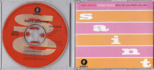 Saint Etienne - Hobart Paving / Who Do You Think You Are - Rare UK 4 track CD