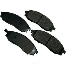 Disc Brake Pad Set-ProACT Ultra Premium Ceramic Pads Front Akebono ACT830
