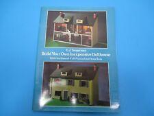 Vintage Build Your Own Inexpensive Dollhouse Guide E.J Tangerman VS31