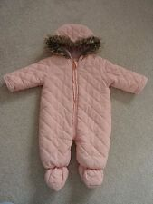 Baby Girl's Snowsuit from Primark Age 3-6 Months