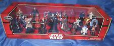 STAR WARS Disney PVC Mega Figure/Figurine Playset Set~Luke Skywalker/Darth Vader