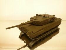 MINICHAMPS LEOPARD 2 GERMAN TANK - ARMY GREEN 1:35 -  GOOD CONDITION