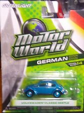 Green Light Motor World Series 14 German Edition Volkswagen Classic Beetle