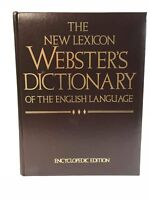 The New Lexicon Webster's Dictionary Encyclopedic Edition 1988