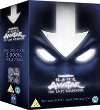 Avatar 1-3 Herr der Elemente - Buch 1 2 3 Feuer Wasser Erde 13 DVD Box Deutsch