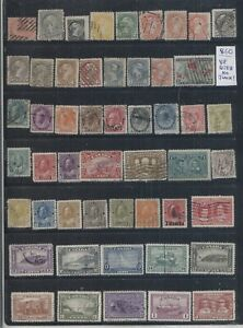 Canada OLD COLLECTION LOT High CV Lot #860