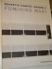 Fumihiko Maki BASEL NOVARTIS Campus Square 3 ARCHITECTURE Christoph Merian