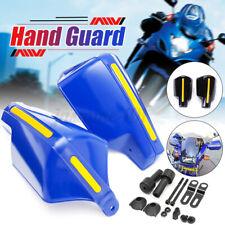 Paar Motorrad 7/8″ 22mm Lenker Handprotektoren Handschützer Handschutz Blau ABS