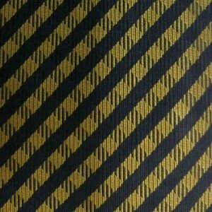 Blue Gold Plaid KRIZIA Silk Tie