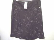 Below Knee A-Line Hand-wash Only Solid Skirts for Women