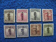 "China ROC Local Province 1916-9 ""Sinkiang"" Sc#17/29 OG MNH"