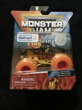 Monster Jam Fire And Ice Grave Digger! Wal-Mart Exclusive New! Special Edition
