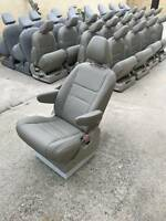 NEW TAN Leather Seats for Mercedes Sprinter Van RV or shuttle bus / motorhome