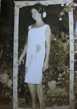 Photo presse vintage AGIP Robert Cohen St Tropez élection Miss Reine des roses