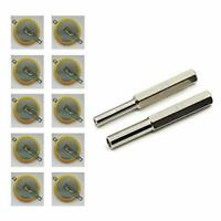 3V CR1616 CR2025 CR2032 cell battery Tabs with 3.8mm 4.5mm Security Screw Bits