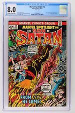 Marvel Spotlight #12 - Marvel 1973 CGC 8.0 Story continued from Ghost Rider #2.