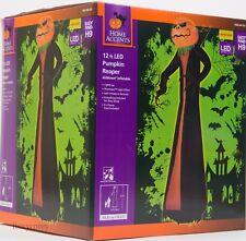 Halloween 12 ft  LED Giant Projection Phantasm Pumpkin Reaper Inflatable NIB