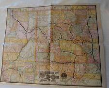 *Early Denver & Rio Grande Railroad System Map*