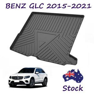 Rear Cargo Liner Trunk Tray Protection Floor Mat for Mercedes-Benz GLC 2015-2021