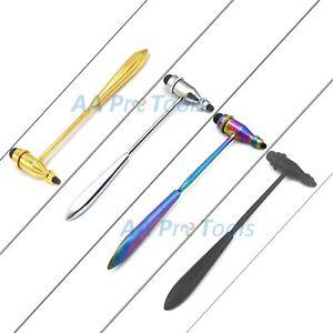 Tromner Reflex Hammer, Neurological, Medical, Diagnostic (Choose Color) Care kit