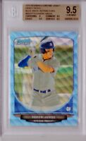 BGS 9.5 AARON JUDGE 2013 Bowman Chrome BLUE WAVE REFRACTOR Yankees RC GEM MINT