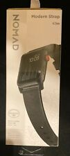 Nomad - Modern Strap - Horween Leather for Apple Watch 42mm & 44mm (Black) NEW!