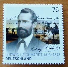 LUDWIG LEICHHARDT JOINT ISSUE AUSTRALIA & GERMANY SOUVENIR SINGLE STAMP MUH