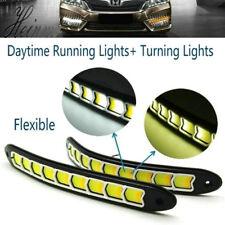 Universal Car 9 LED Daytime Running Light Turn Signal Lamp Day Lights Daylight